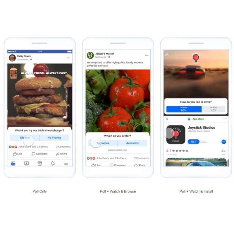 Facebook : gamification des publicités avec des formats interactifs