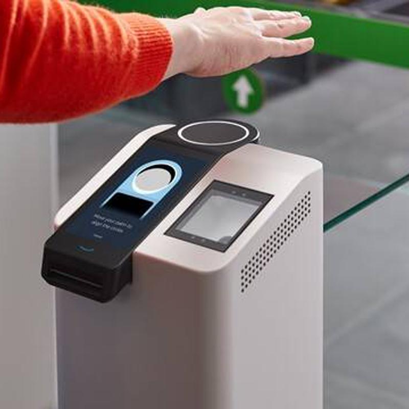 Amazon présente One, sa nouvelle technologie biométrique de paiement avec la paume de la main