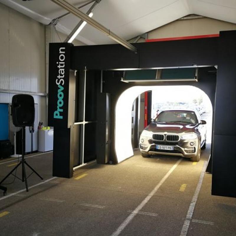 La Proovstation fait son entrée sur l'inspection automobile grâce à son scanner de véhicules